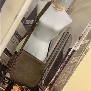Patricia Nash Italian leather crossbody  bag